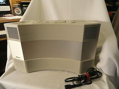 BOSE Acoustic Wave Radio Cassette Music System Series II Model 2010 Tested Works