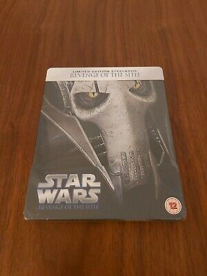 Star wars revenge of the sith steelbook limited NEW
