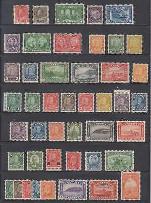 A0743: Early Canada Mint Stamp Collection; CV H