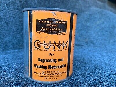 Harley Davidson Motorcycle Oil Can— Nice!!