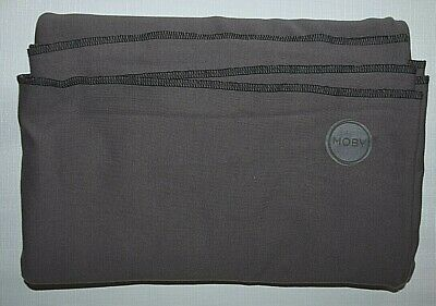 MOBY WRAP Gray Jersey Knit Stretchy Fabric Baby Sling