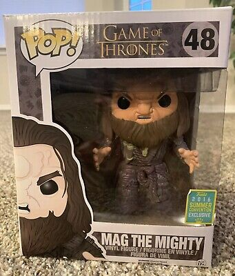 Funko POP! Game Of Thrones Mag The Mighty SDCC 2016 Exclusive Vinyl Figure