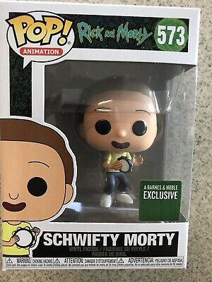 Funko Pop Rick & Morty #573 Schwifty Morty Barnes And Noble Exclusive