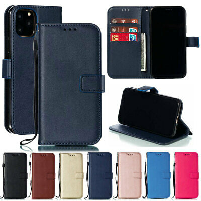 For iPhone 11 Pro Max XS XR X 8 7 6s Luxury Leather Wallet Flip Stand Case Cover