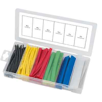 KS Tools 100 Piece Shrink-On Tubes Assortment Multicolour Sleeve Cable Rubber
