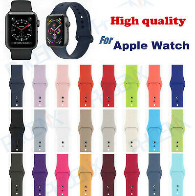 Silicone Band Strap For Appl e Watch iWatch Sports Series 1/2/3/4 38/42/40/44mm