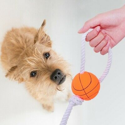 Funny Pet Ball Toy Bite Resistant Non Toxic Chew Molar Dog Teeth Cleaning Toy