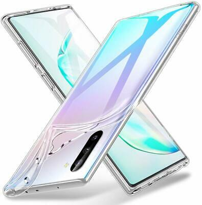 GALAXY NOTE 10 / NOTE 10 PLUS housse etui coque silicone transparent TPU souple