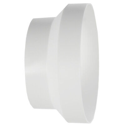 """Ducting Reducer for Air Conditioning Unit 125 100mm 5"""" 4"""" Round Duct Connector"""