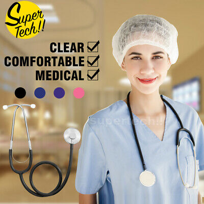 Professional Stethoscope Single Head Doctor Nurse Vet Medical Student HealthWork