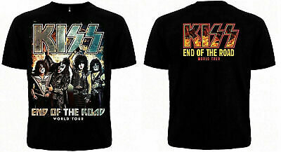 Kiss - End Of The Road - T-Shirt Size S-3Xl