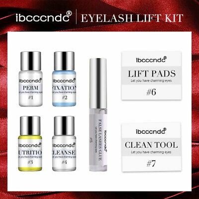 NEW Lash Lift Kit MIRACLE® Keratin Perm Curl Eyelash Extension Adhesive Lotion