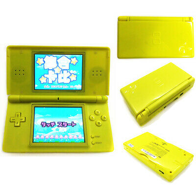 Yellow Pika chu Refurbished Nintendo DS Lite Game Console NDSL Video Game System