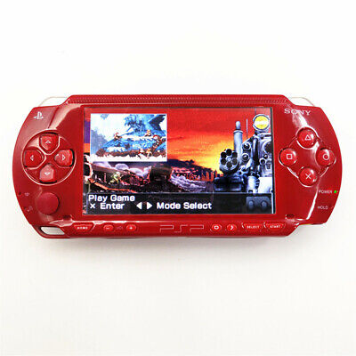 Red Refurbished Sony PSP 1000 Handheld System Video Game Console PSP1000