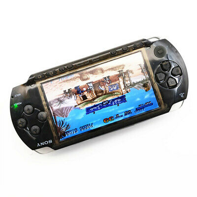 Clear Black Refurbished Sony PSP 1000 Handheld System PSP1000 Video Game Console