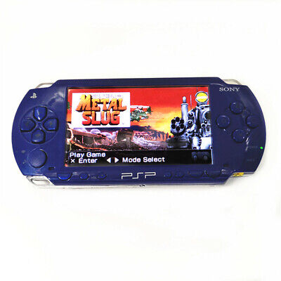 Blue Used Refurbished Sony PSP 1000 Handheld System PSP1000 Video Game Console