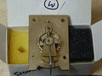 Carriage Clock  Silvered  Platform In Good Working Order (W) Free Post
