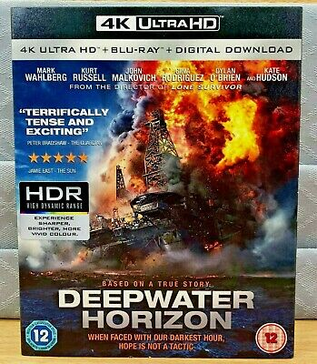 DEEPWATER HORIZON - 4K UHD Outer Cover Only, No box or discs Included