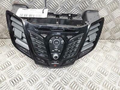 Ford Fiesta 2013 To 2017 Radio Controls & Vents Centre C1BT18K811PA OEM