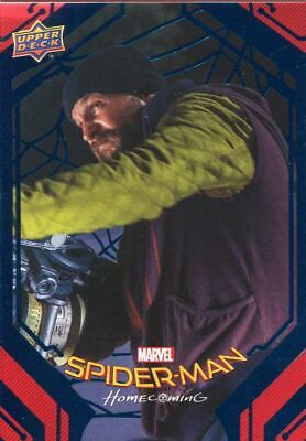 Spiderman Homecoming Blue Foil [99] Base Card #20 Brice's Weapons Demo