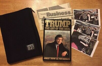 Wow President Donald Trump Autograph Autographed The Art Of The Deal Book Signed