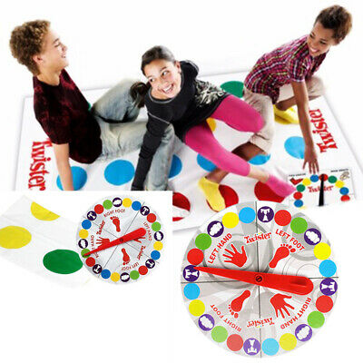 Funny Twister The Classic Family Kids Children Party Body Game With 2 More Moves