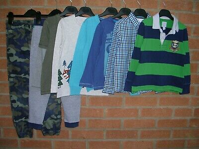 NEXT GAP M&S BEN SHERMAN etc Boys Bundle T-Shirts Jeans Tops Age 4-5 110cm