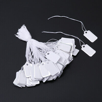 500pcs Price Tags Label Hanging String for Jewelry Clothing Shoes Stationery