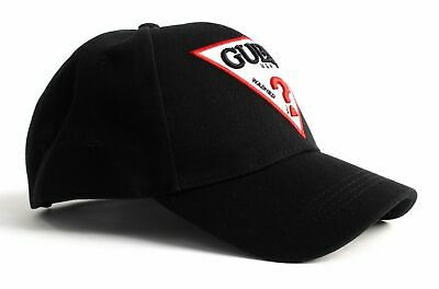 GUESS Not Coordinated Baseball Cap Accessoire Black Schwarz Neu