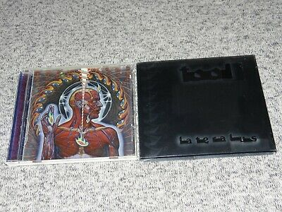 "TOOL ""Lateralus"" CD with ""Lateralis"" Rare Misprint on Slipcover 2001 HDCD"