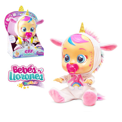 Cry Babies Fantasy Dreamy The Unicorn Baby Doll for Kid Magically Cry Real Tears