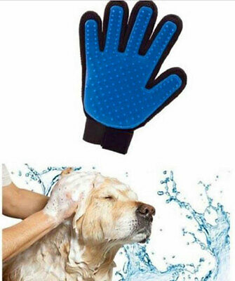Cleaning Brush Magic Glove Pet Dog Massage Hair Remover Grooming Groomer Right