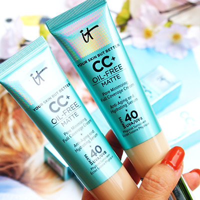 IT Cosmetics Your Skin But Better CC+ Cream Oil-Free Matte SPF 40 Light / Medium
