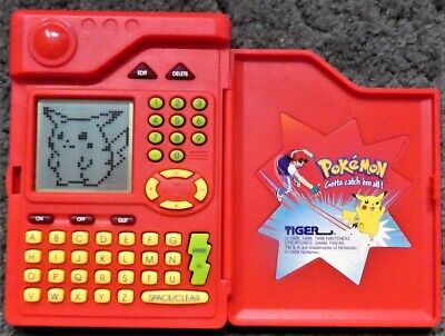Pokemon Pokedex - Tiger Electronic Game 1998 - Working - No Box or Instructions