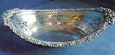 "SUPERB Large 14"" ~ GEORGIAN ~ SHEFFIELD Plate ~ BREAD / Fruit BASKET ~ c1825"
