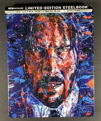 John Wick Chapter 3 Parabellum Steelbook Case + Digital Number 12245 of 35000
