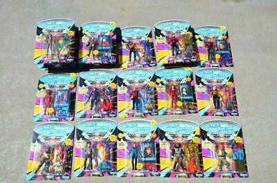 Lot of 19 Star Trek TNG Next Generation Figure Playmates Picard Romulan Guinan