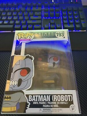 Funko POP! Heroes Batman the Animated Series Batman (Robot) #193
