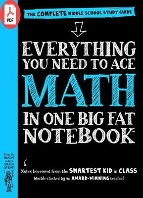 Everything You Need to Ace Math in One Big Fat Notebook: The Complete Middle