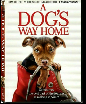A Dog's Way Home (DVD,2019) New Sealed Family Drama Free Shipping included!