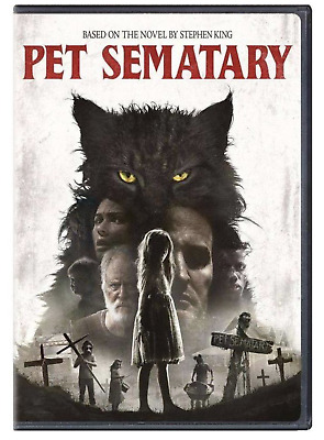 Pet Sematary (DVD, 2019) New & Sealed FAST Shipping!