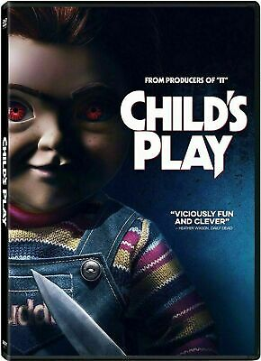 Child's Play  New Dvd 2019 (Pre-Order Ships 9/24/2019)