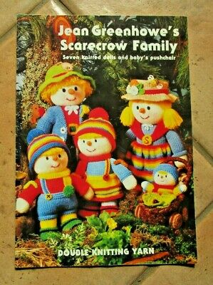 Jean Greenhowe's - Scarecrow Family Pattern Book