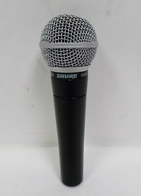Shure SM58 Dynamic Handheld Wired Vocal Microphone - 03/L157943B
