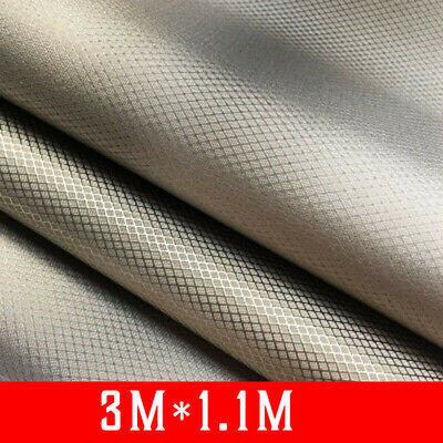 Grounding Earthing EMF RF RFID Shielding Fabric Material Protective Clothing Lot