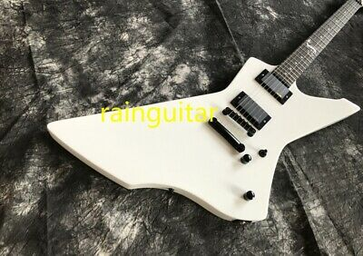 Top Quality Custom ShopESPS Electric Guitar White Color Snake Inlay EMG Pickups