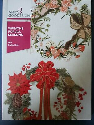 Wreaths for All Seasons Machine Embroidery Anitagoodesigns