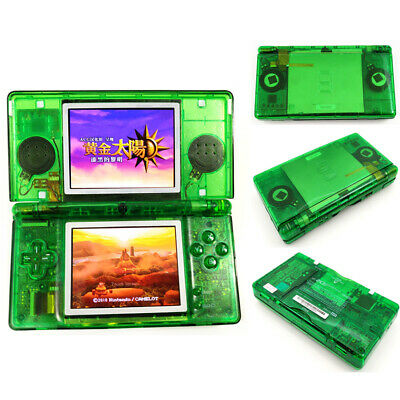 Refurbished Clear Green Nintendo DS Lite NDSL Video Game Console With Charger