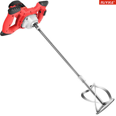2100W Electric Plaster Paddle Mixer Mortar Cement Paint Stirrer Plastering Whisk