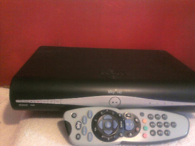 Sky +HD  box with remote control  & leads